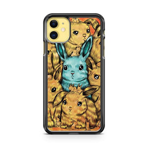 Bunny Blue iphone 5/6/7/8/X/XS/XR/11 pro case cover