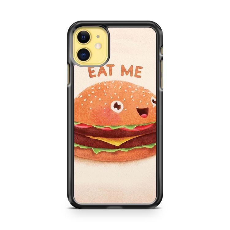 Burger Eat Me iphone 5/6/7/8/X/XS/XR/11 pro case cover