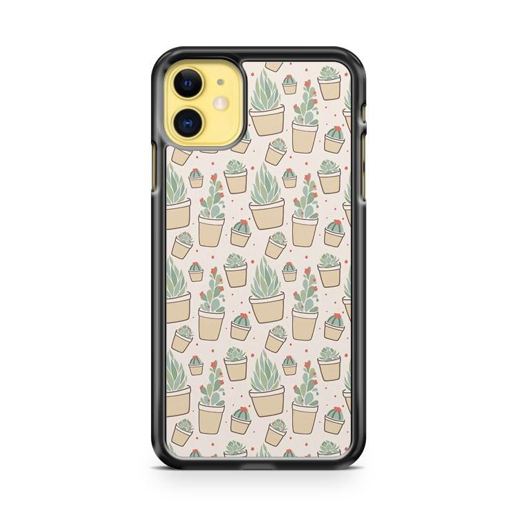 Cactus and Succulent Plants iphone 5/6/7/8/X/XS/XR/11 pro case cover