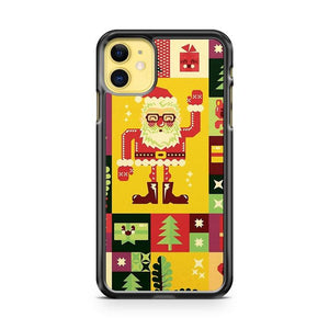 Christmas Pattern iphone 5/6/7/8/X/XS/XR/11 pro case cover