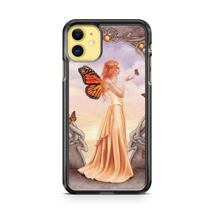 Citrine Birthstone Fairy iphone 5/6/7/8/X/XS/XR/11 pro case cover