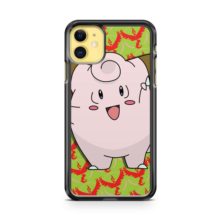 clefairy Team Valor iphone 5/6/7/8/X/XS/XR/11 pro case cover