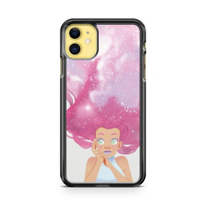 Galaxy Hair iphone 5/6/7/8/X/XS/XR/11 pro case cover