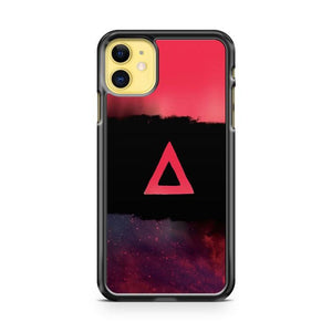 Galaxy Triangle Tricolor iphone 5/6/7/8/X/XS/XR/11 pro case cover