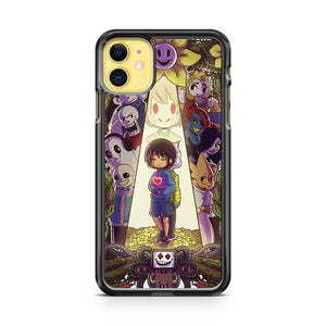 Game Undertale iphone 5/6/7/8/X/XS/XR/11 pro case cover