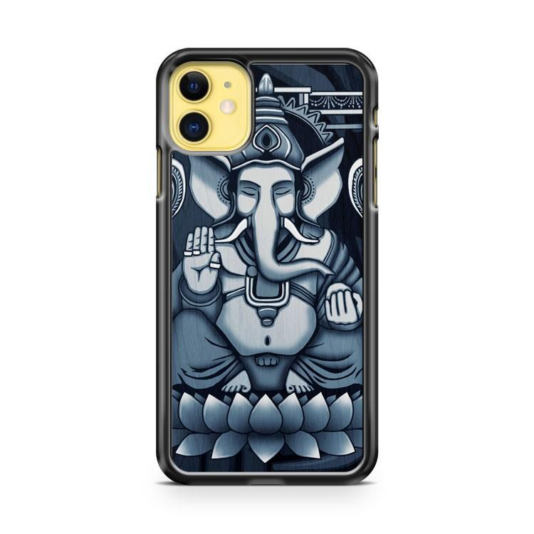 Ganesh White Halftone iphone 5/6/7/8/X/XS/XR/11 pro case cover
