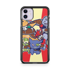 Pokemon Gengar 7 iphone 5/6/7/8/X/XS/XR/11 pro case cover