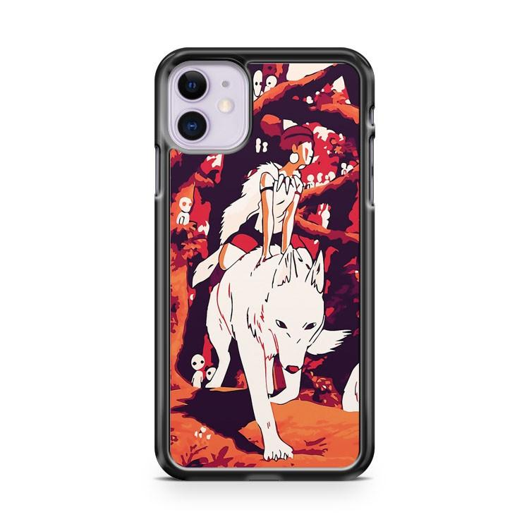 Princess Mononoke iphone 5/6/7/8/X/XS/XR/11 pro case cover
