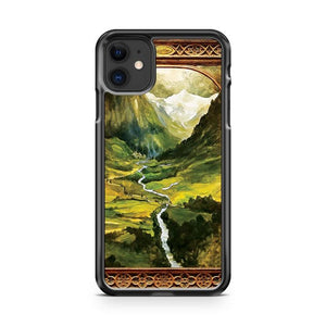 The Ring is taken to Rivendell iphone 5/6/7/8/X/XS/XR/11 pro case cover