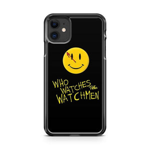Who Watches The Watchmen And Smile iphone 5/6/7/8/X/XS/XR/11 pro case cover