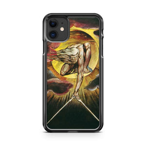 William Blake The Ancient of Days iphone 5/6/7/8/X/XS/XR/11 pro case cover