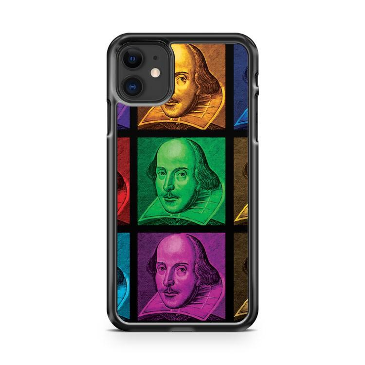 William Shakespeare Pop Art iphone 5/6/7/8/X/XS/XR/11 pro case cover