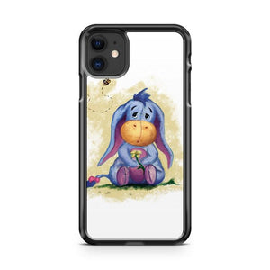 Winnie The Pooh Baby Eeyore iphone 5/6/7/8/X/XS/XR/11 pro case cover