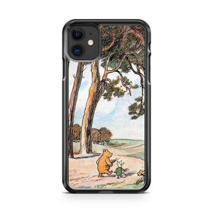 Winnie The Pooh Vintage iphone 5/6/7/8/X/XS/XR/11 pro case cover
