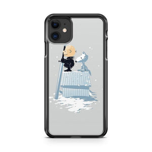 WINTER PEANUTS iphone 5/6/7/8/X/XS/XR/11 pro case cover