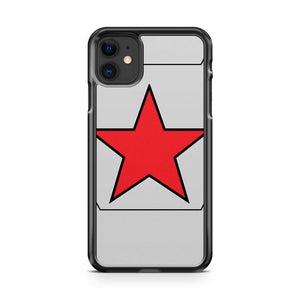 Winter Soldier Shield iphone 5/6/7/8/X/XS/XR/11 pro case cover