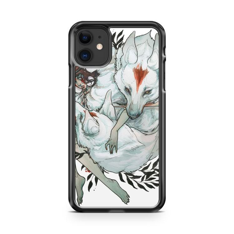 Wolf Child iphone 5/6/7/8/X/XS/XR/11 pro case cover