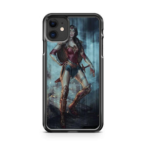 Wonder Woman Art 3 iphone 5/6/7/8/X/XS/XR/11 pro case cover