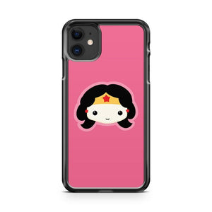 Wonder Woman Chibi iphone 5/6/7/8/X/XS/XR/11 pro case cover