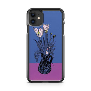 Wonky Flora iphone 5/6/7/8/X/XS/XR/11 pro case cover