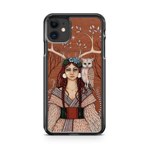 Wood Witch iphone 5/6/7/8/X/XS/XR/11 pro case cover