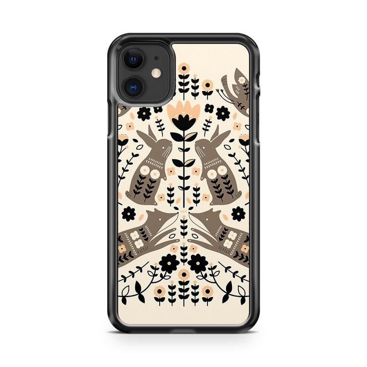 Woodland Folklore iphone 5/6/7/8/X/XS/XR/11 pro case cover