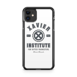 Xavier Institute iphone 5/6/7/8/X/XS/XR/11 pro case cover