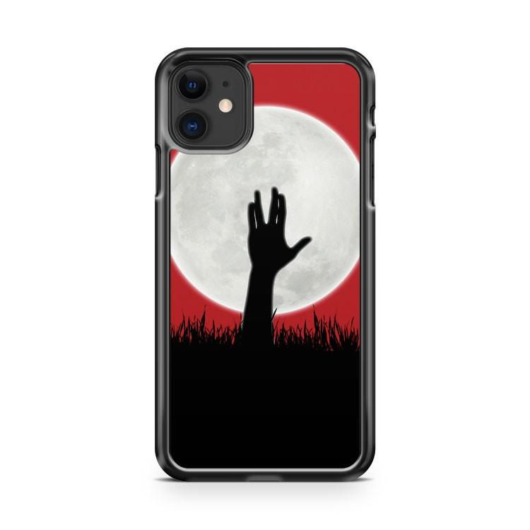 Zombie Spock iphone 5/6/7/8/X/XS/XR/11 pro case cover