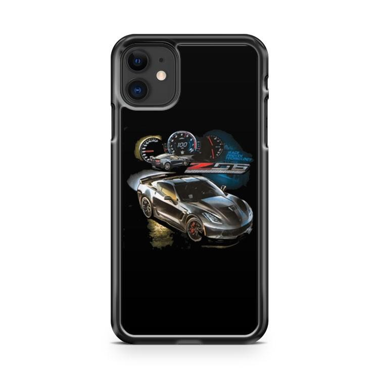 C7 Z06 Corvette Race Proven Technology iphone 5/6/7/8/X/XS/XR/11 pro case cover