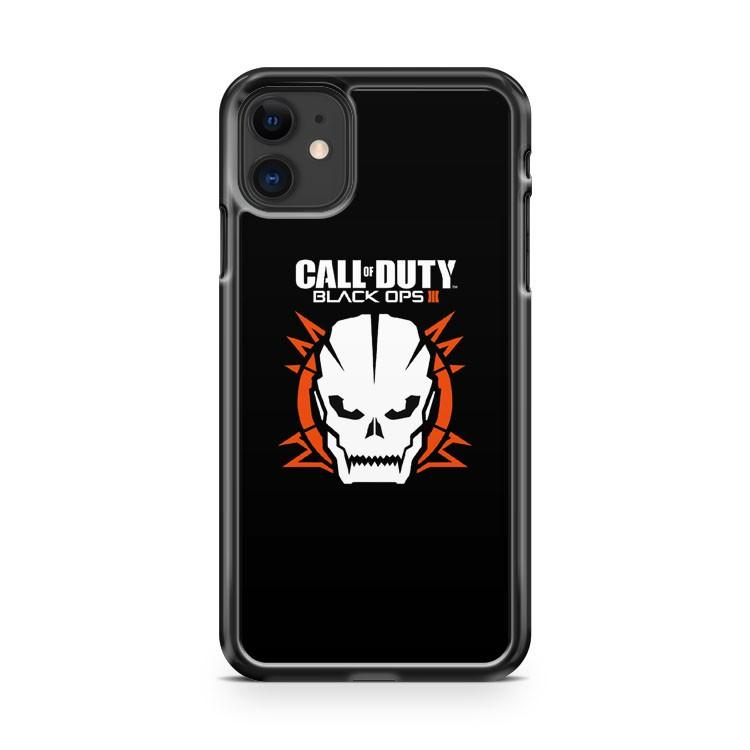 Call Of Duty Black Ops 3 Skull iphone 5/6/7/8/X/XS/XR/11 pro case cover