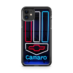 camaro chevy chevrolet iphone 5/6/7/8/X/XS/XR/11 pro case cover
