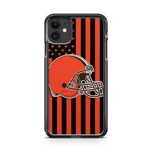 CLEVELAND BROWNS NFL 2 iphone 5/6/7/8/X/XS/XR/11 pro case cover