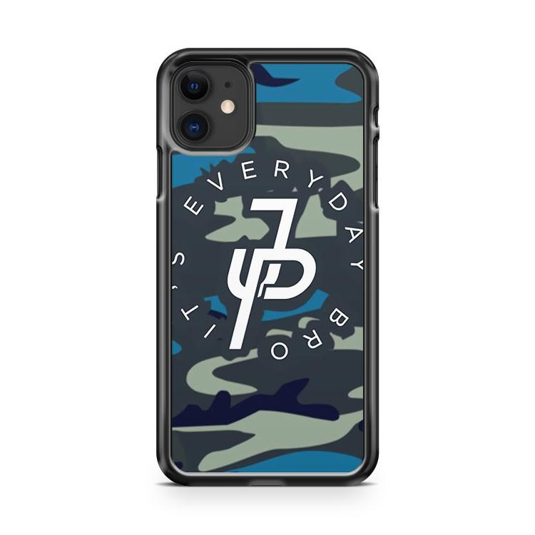 Jake Paul Bape Camo Blue 2 iphone 5/6/7/8/X/XS/XR/11 pro case cover
