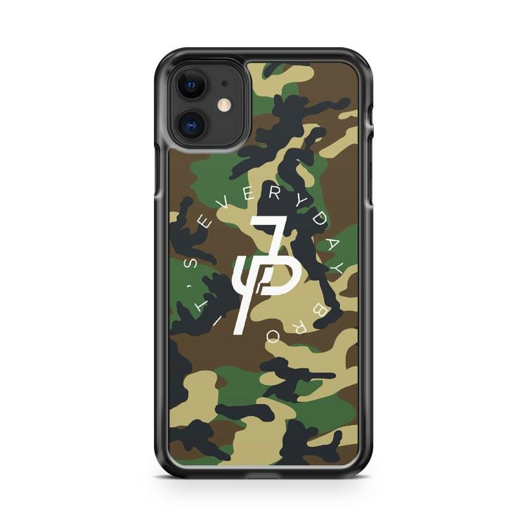 Jake Paul black white iphone 5/6/7/8/X/XS/XR/11 pro case cover