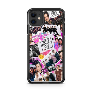 Why Dont We Band Collage iphone 5/6/7/8/X/XS/XR/11 pro case cover