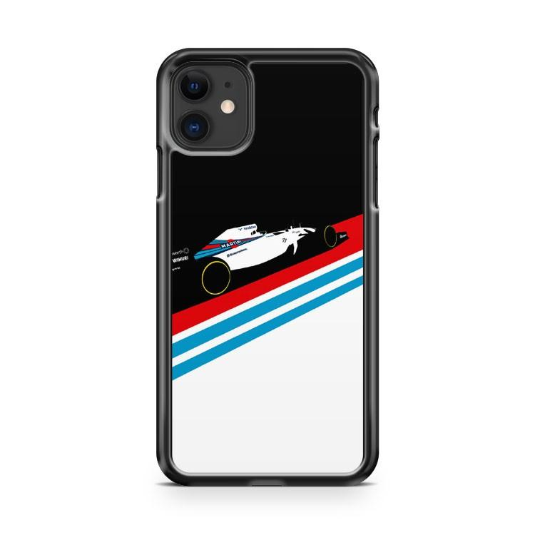 Williams Martini Racing iphone 5/6/7/8/X/XS/XR/11 pro case cover