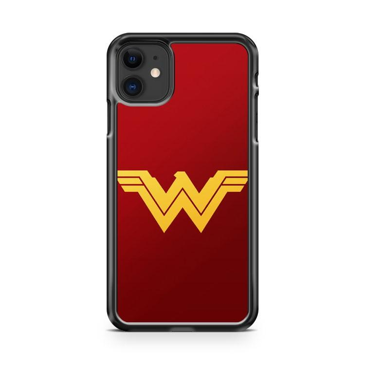 Wonder Woman Logo 3 iphone 5/6/7/8/X/XS/XR/11 pro case cover