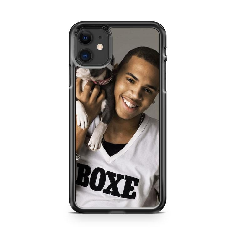 Young Chris Brown iphone 5/6/7/8/X/XS/XR/11 pro case cover