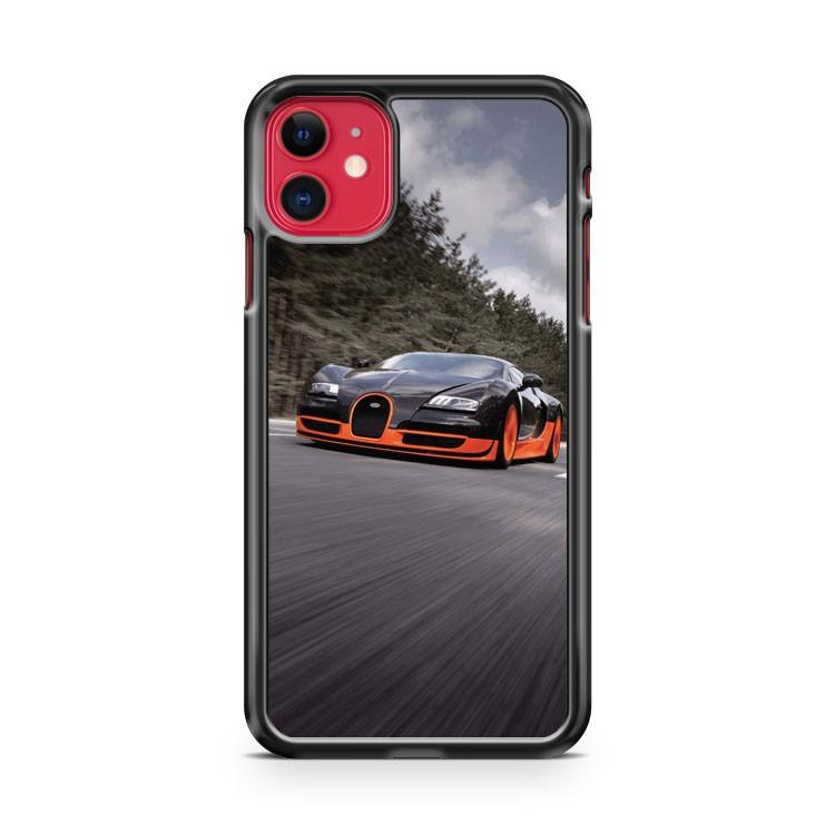 Bugatti Veyron Supersport iphone 5/6/7/8/X/XS/XR/11 pro case cover
