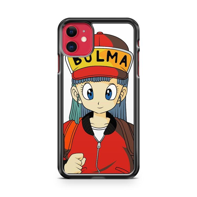 Bulma Dragon Ball iphone 5/6/7/8/X/XS/XR/11 pro case cover