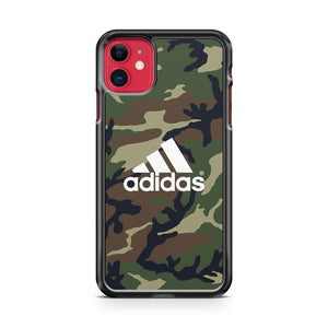 Camo Adidas Logo iphone 5/6/7/8/X/XS/XR/11 pro case cover