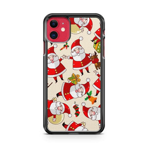 Christmas Santa Claus Pattern iphone 5/6/7/8/X/XS/XR/11 pro case cover