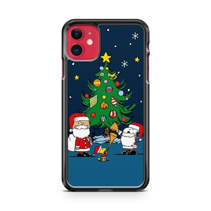 Christmas Snoopy And Charlie Brown iphone 5/6/7/8/X/XS/XR/11 pro case cover