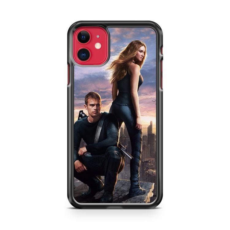 Divergent Be Brave 2 iphone 5/6/7/8/X/XS/XR/11 pro case cover