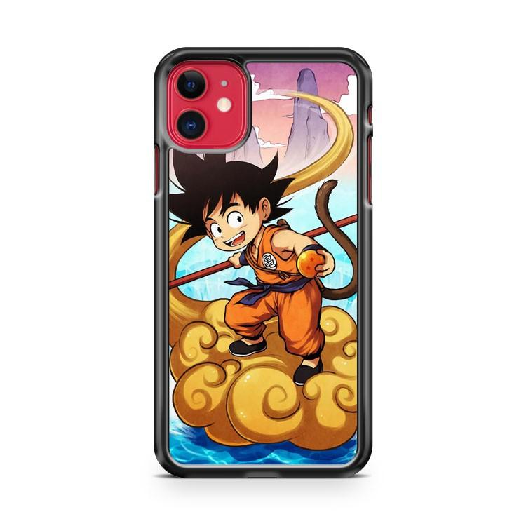Dragon Ball Goku Back iphone 5/6/7/8/X/XS/XR/11 pro case cover