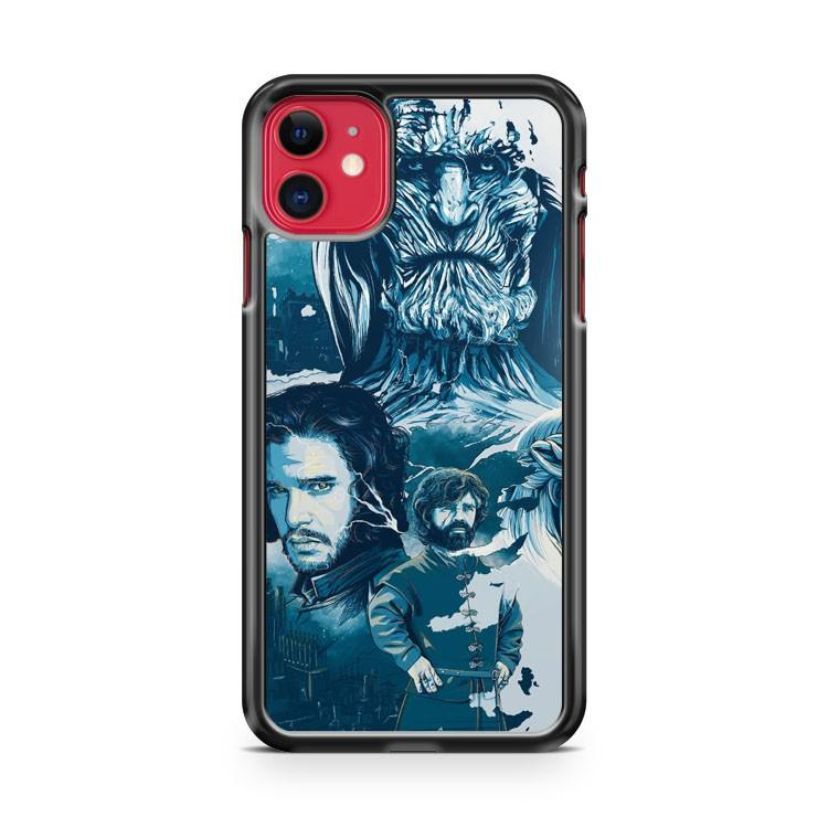 Game of Thrones 4 iphone 5/6/7/8/X/XS/XR/11 pro case cover
