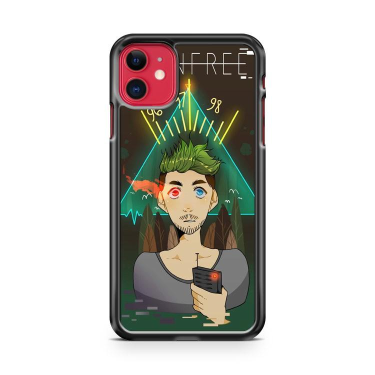 Jacksepticeye Like a boss 3 iphone 5/6/7/8/X/XS/XR/11 pro case cover