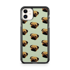 Pug Pattern iphone 5/6/7/8/X/XS/XR/11 pro case cover