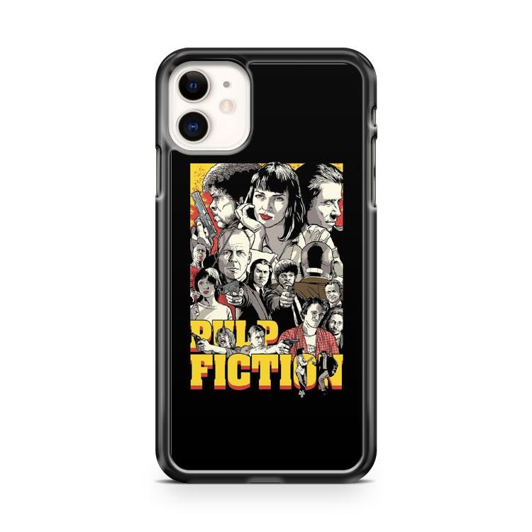 Pulp Fiction Poster iphone 5/6/7/8/X/XS/XR/11 pro case cover
