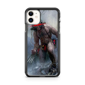 Wolverine Weapon X iphone 5/6/7/8/X/XS/XR/11 pro case cover